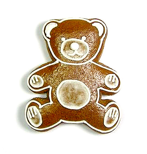 Ausstecher Teddybär  60x52mm