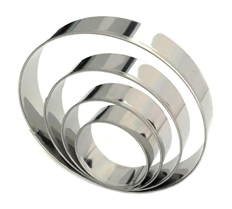 Ausstecher 4er Set Ringe