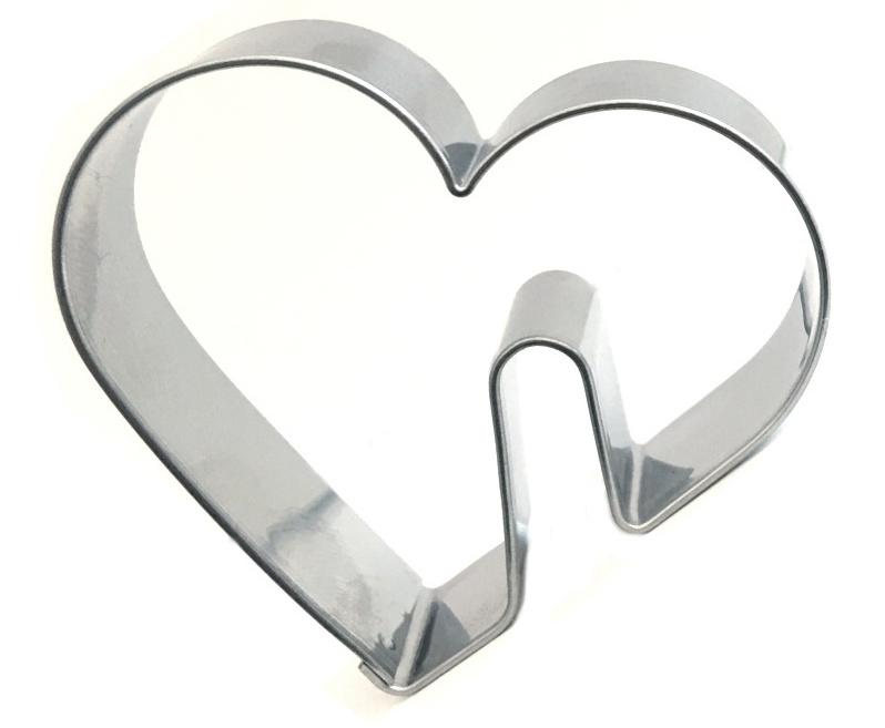 Ausstecher 4er Set Tassen Herzen