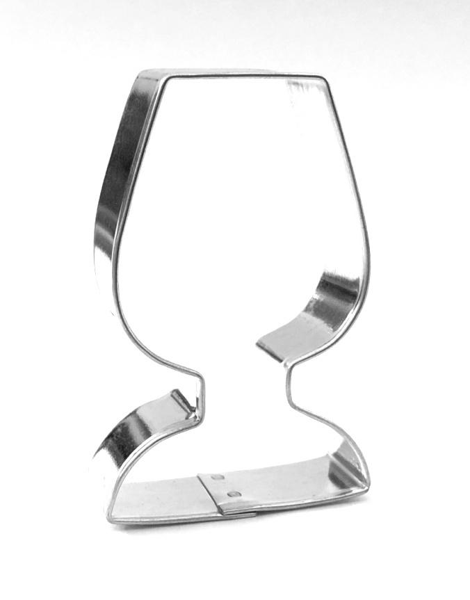 Ausstecher Weinglas 57x34mm