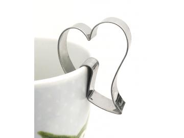 Ausstecher Tassenkeks Herz 5,5cm