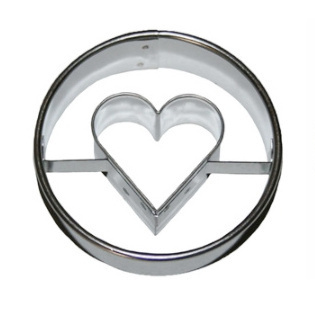 Ausstecher Linzer 5cm Herz