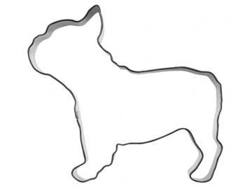 Ausstecher französische Bulldogge 10cm