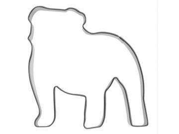 Ausstecher englische Bulldogge 7,5cm