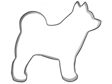 Ausstecher Hund Spitz 10cm