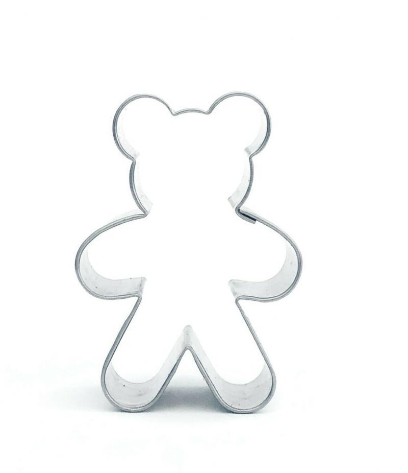 Ausstecher 3er Set Teddy/Linzer