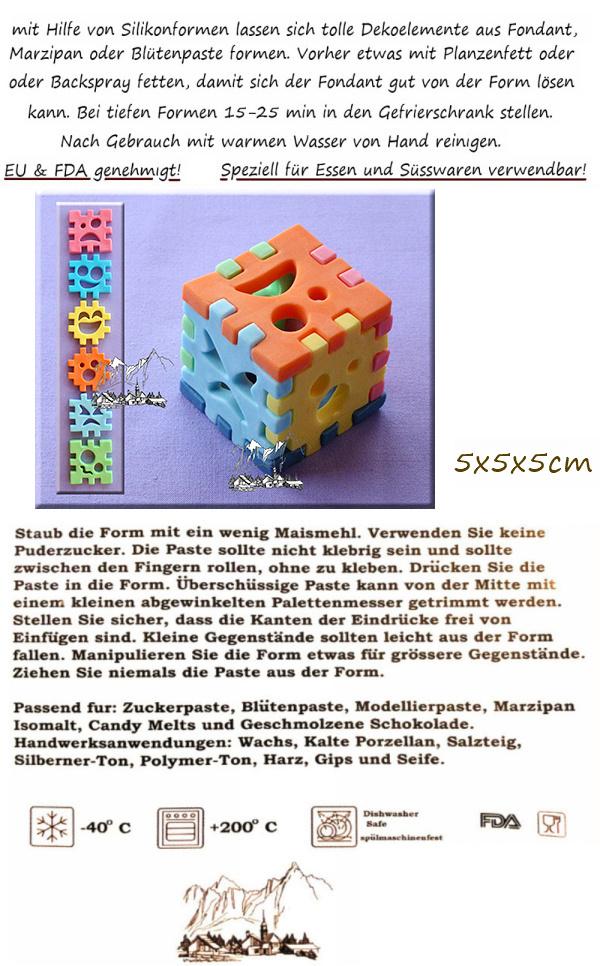 3 D-Würfel-Set