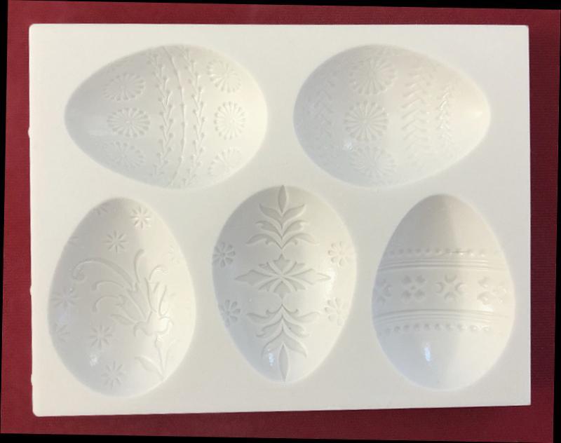 Silikonform Eier