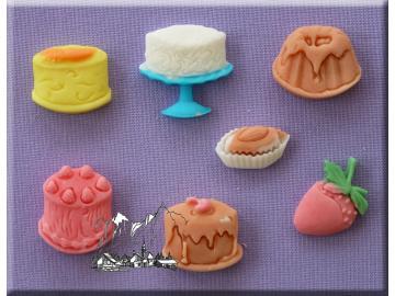Silikonform Cakes