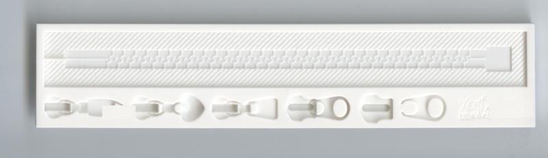 Silikonform Bordüre Zipper