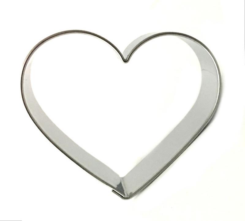 Ausstecher Herz klein 40x46 mm