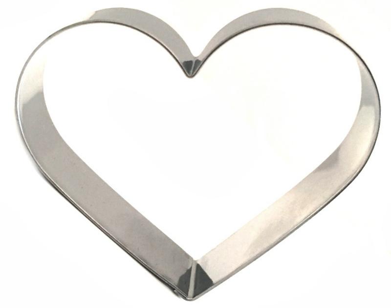 4 teiliges Ausstecher-Set Herzen