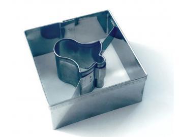 Ausstecher Viereck/Glocke Linzer 3,6cm