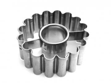 Ausstecher Linzer Ring 36mm gewellt