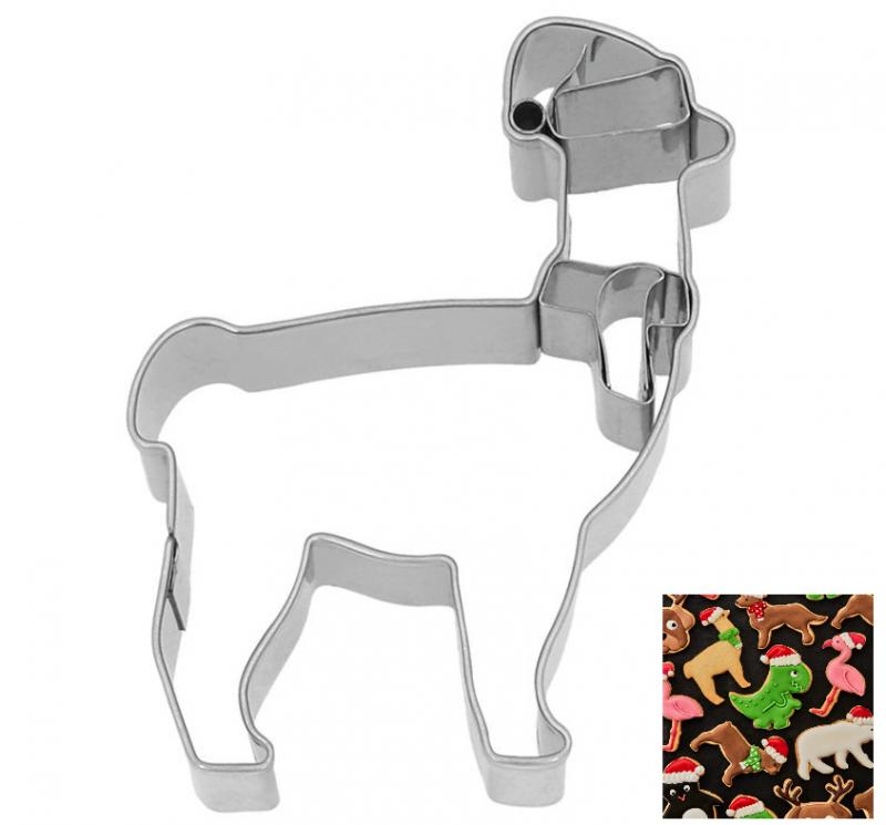 Ausstecher Weihnachts - Lama Edelstahl