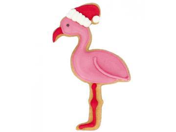 Ausstecher Weihnachts Flamingo Edelstahl