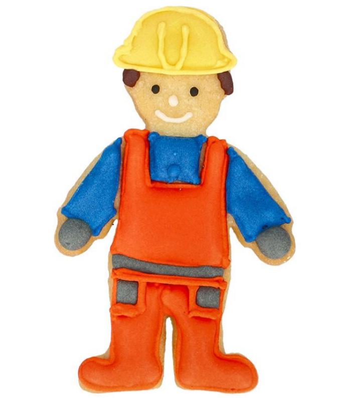 Ausstechform Bauarbeiter 8cm