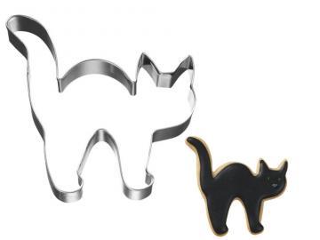 Ausstecher Halloween Katze 8cm