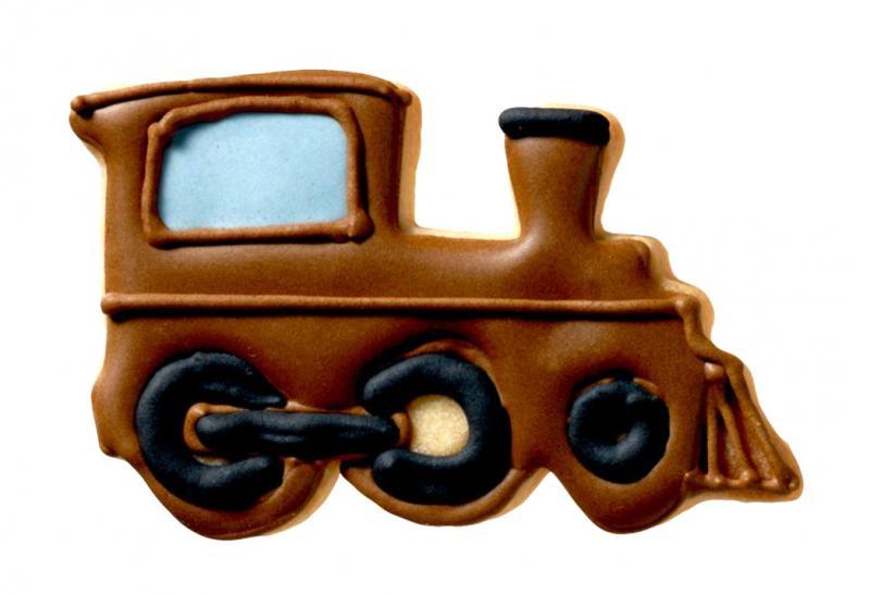 AusstecherEisenbahn 8cm