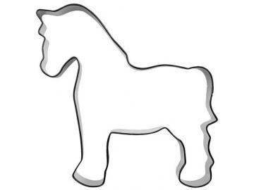 Ausstecher Pferd groß  10cm