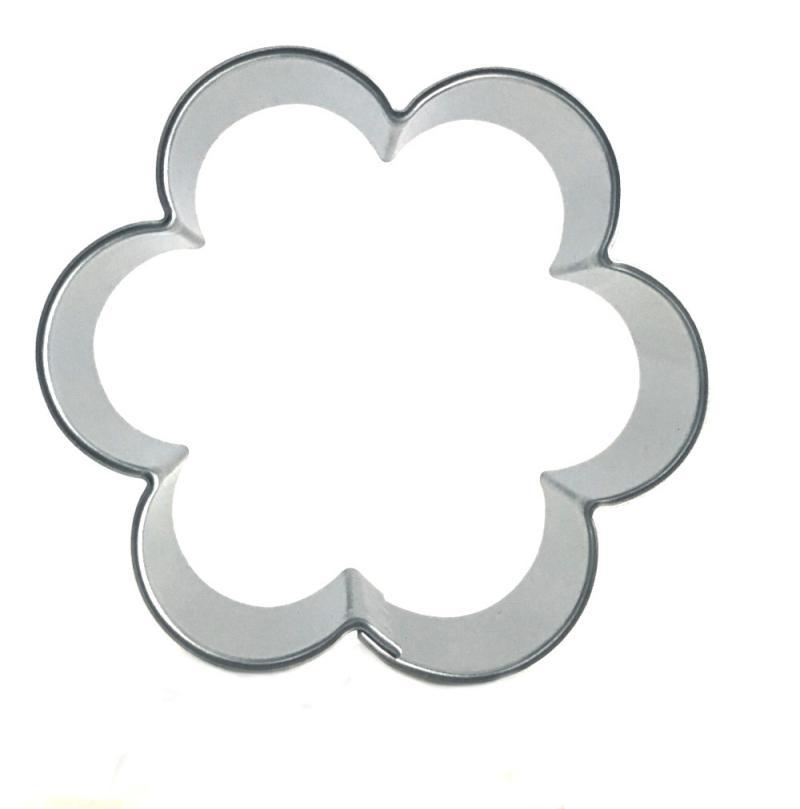 Ausstecher Blume 52x47mm