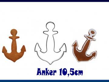 Ausstecher Anker 10,5cm