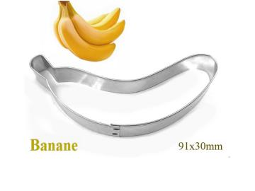 Ausstecher Banane