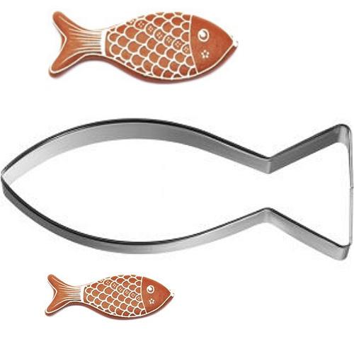Ausstecher Fisch Christenfisch 5cm