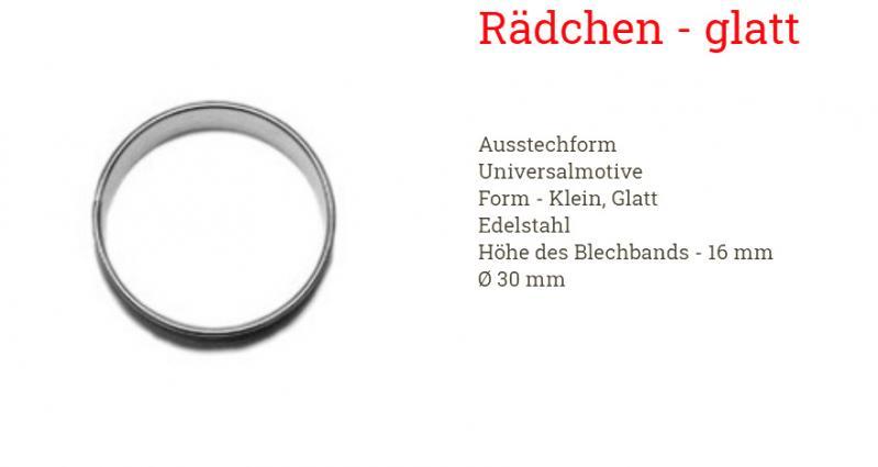Ausstecher Ring 3cm