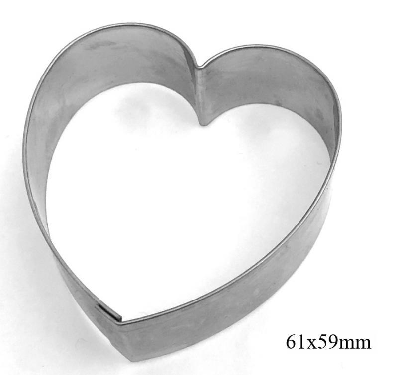 Ausstecher rundes Herz 6cm