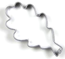 Ausstecher Eichenblatt  59x30mm