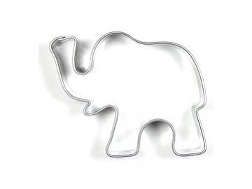 Ausstecher Elefant  45x53mm