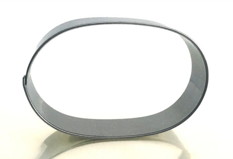 Ausstecher Mocca oval 6cm