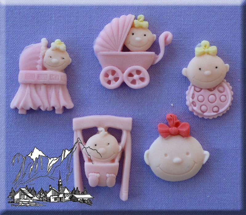 Silikonform Baby & Geburt
